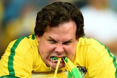 سیاهترین شب تاریخ فوتبال برزیل+تصاویر