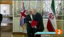 دیدار وزرای خارجه ایران و انگلیس در تهران