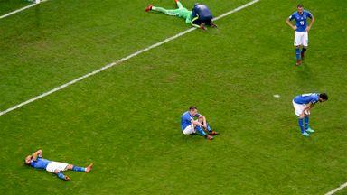 بازماندن تیم ملی ایتالیا از صعود به جامجهانی