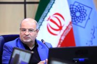 آمار کرونا در تهران با یک شیب ملایم رو به کاهش است