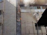 آتشسوزی در بیمارستان سیدالشهدا +عکس