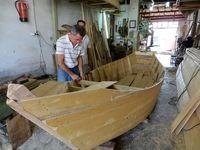 حال و روز صنعت قایق چوبی گیلان