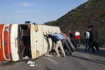 یک کشته در تصادف مینیبوس با تریلر +تکمیلی