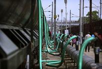 انتقال آب با قطار در هندوستان +تصاویر