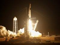 کپسول اژدها به ایستگاه فضایی رسید +تصاویر