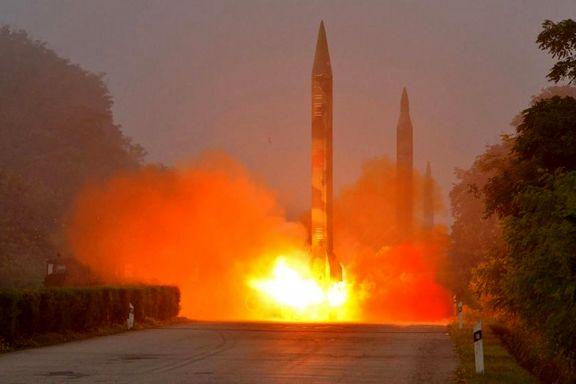 آمریکا یک موشک بالستیک قاره پیما آزمایش کرد