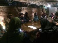 نشست پروژه «فضاسازی» در عمارت روبرو برگزار شد
