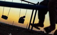 کودکان خاکی - کرمان +عکس