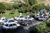 ترافیک سنگین در مسیرهای ورودی تهران