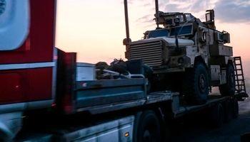 خودروهای زرهی آمریکا وارد سوریه شدند