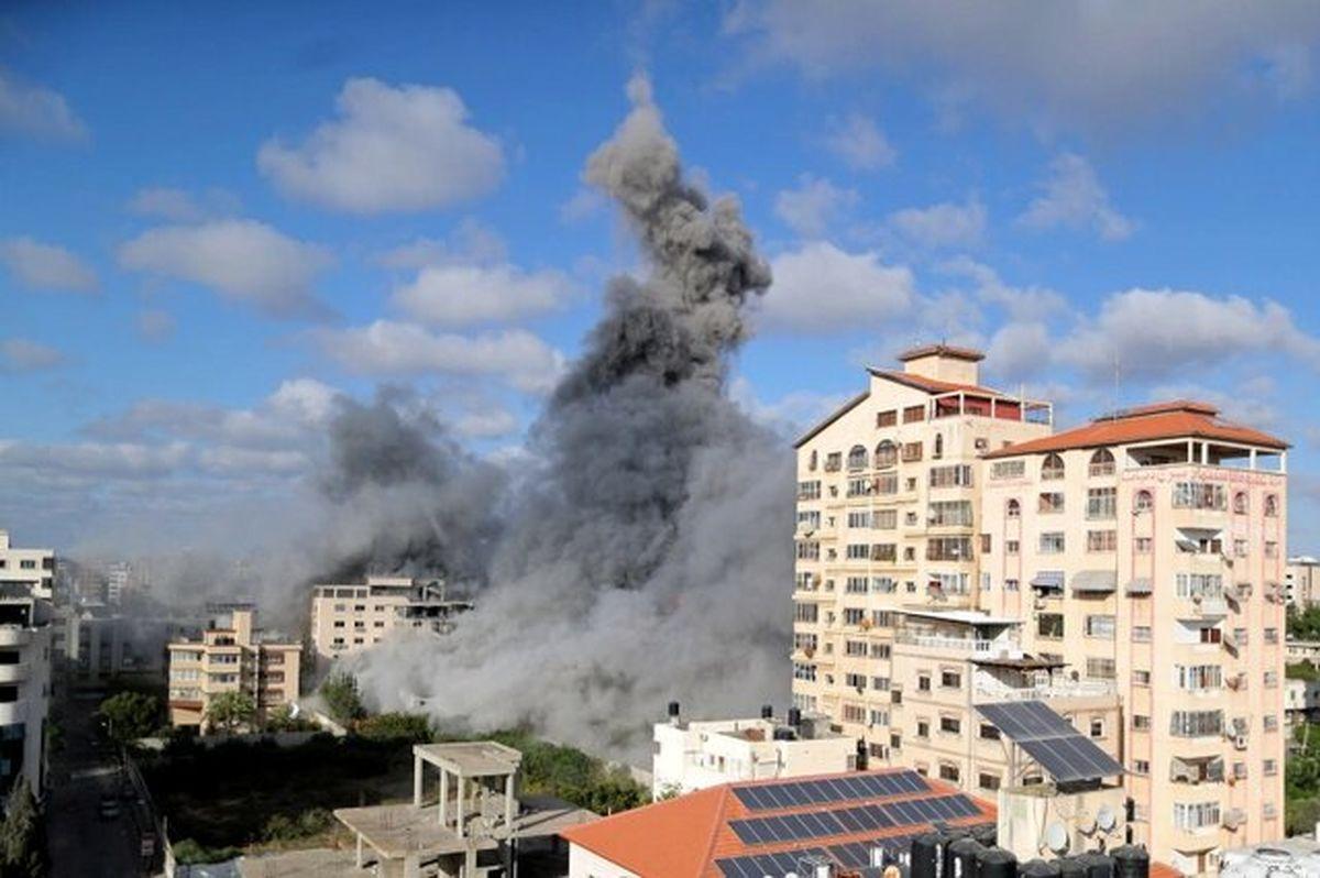 افزایش تعداد شهدای غزه به ۲۵۷ تن