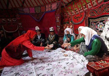 زندگی سنتی ترکهای قرقیز