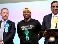 شادی برندگان انتخابات پارلمان اروپا +تصاویر