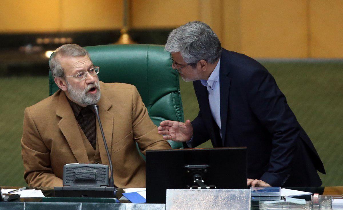 گلایه لاریجانی از صادقی در جلسه علنی مجلس