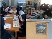 تجهیز کتابخانه 7دبستان و دبیرستان شهرستان «نیمروز» توسط بانک صادرات