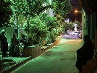 حضور شبانه مردم در خیابانها پس از زلزله تهران +عکس