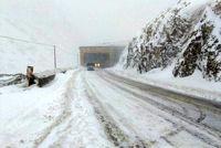 جادههای مازندران برفی و بارانی است