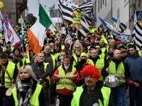 وکلا و پزشکان فرانسوی هم علیه ماکرون تظاهرات کردند