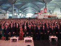 اردوغان فرودگاه جدید استانبول را افتتاح کرد