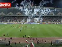 مراسم بدرقه تیم ملی فوتبال ایران در ورزشگاه آزادی +فیلم
