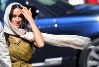 رعایت حجاب توسط عروس ملکه انگلیس +عکس