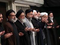 مراسم عزاداری شام غریبان در حسینیه امام خمینی +تصاویر