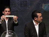 آیین قرعه کشی نوزدهمین دوره رقابتهای لیگ برتر فوتبال +تصاویر