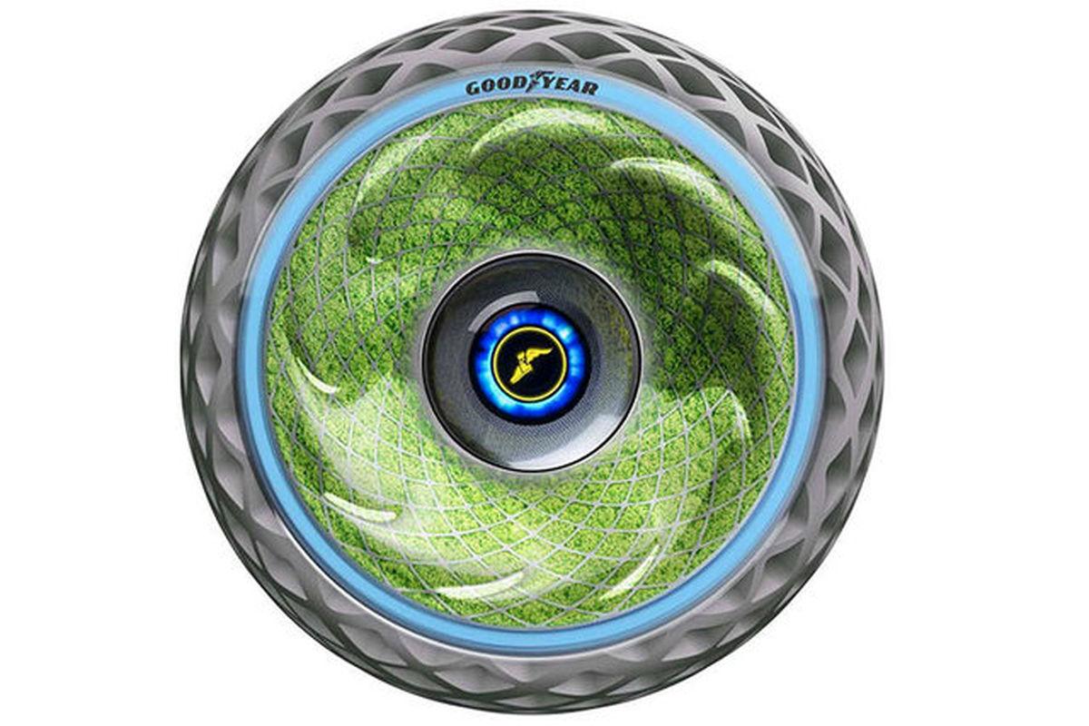 تایر خودرویی که اکسیژن تولید میکند!