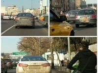 گل بازی برای فرار از طرح ترافیک! +تصاویر