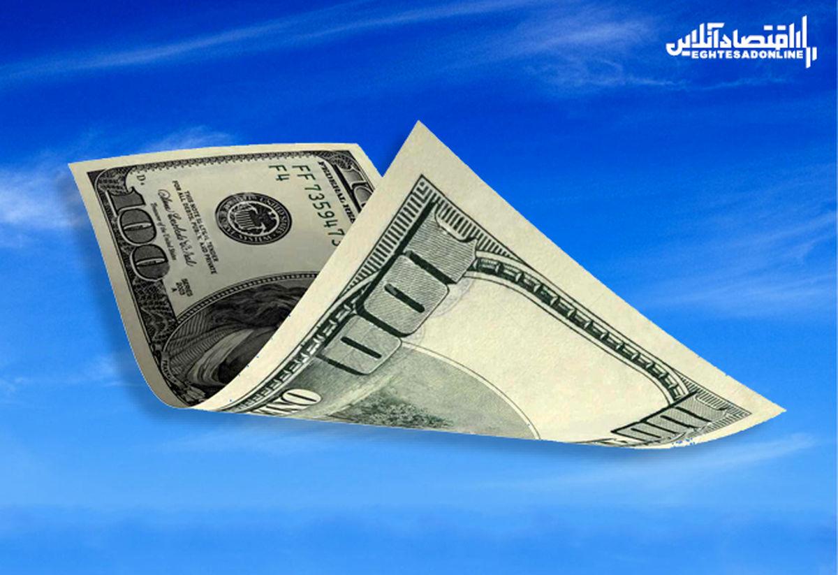 ثبت یک ریزش دیگر برای دلار