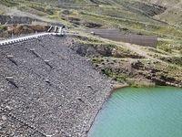 افزایش ۲.۵برابری ذخیره آبی سد تبارک قوچان