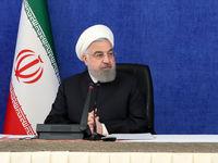 روحانی: با یک دست با تحریم و با دست دیگر با کرونا مبارزه میکنیم