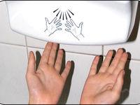 دست خشککنهای برقی، بهداشتی هستند؟
