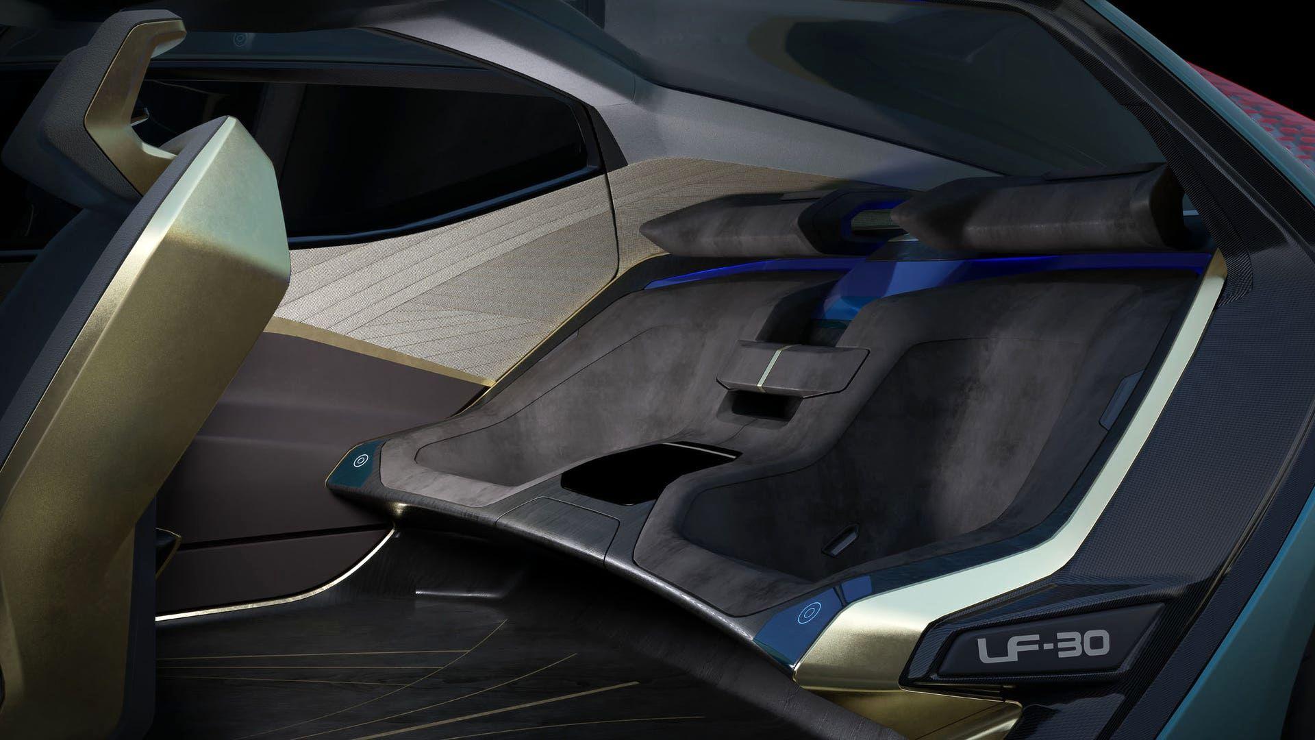 جدیدترین خودروی لکسوس LF-30 رونمایی شد