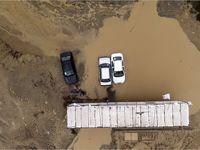خسارت سیل در منطقه بندرگز و نوکنده استان گلستان +تصاویر
