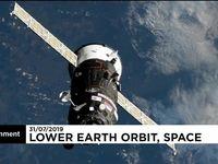 پرتاب موشک مواد غذایی برای ایستگاه فضایی بینالمللی +فیلم