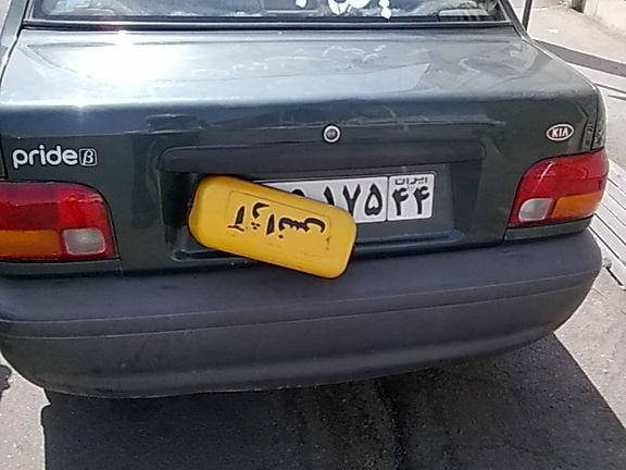 دستگیری مخدوش کننده پلاک خودرو