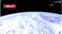 پخش زنده از فضا! +فیلم