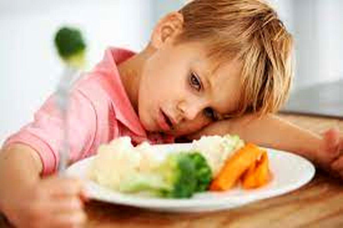 چگونه بی اشتهایی کودکان را درمان کنیم؟