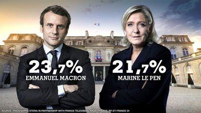 پایان رایگیری در انتخابات فرانسه