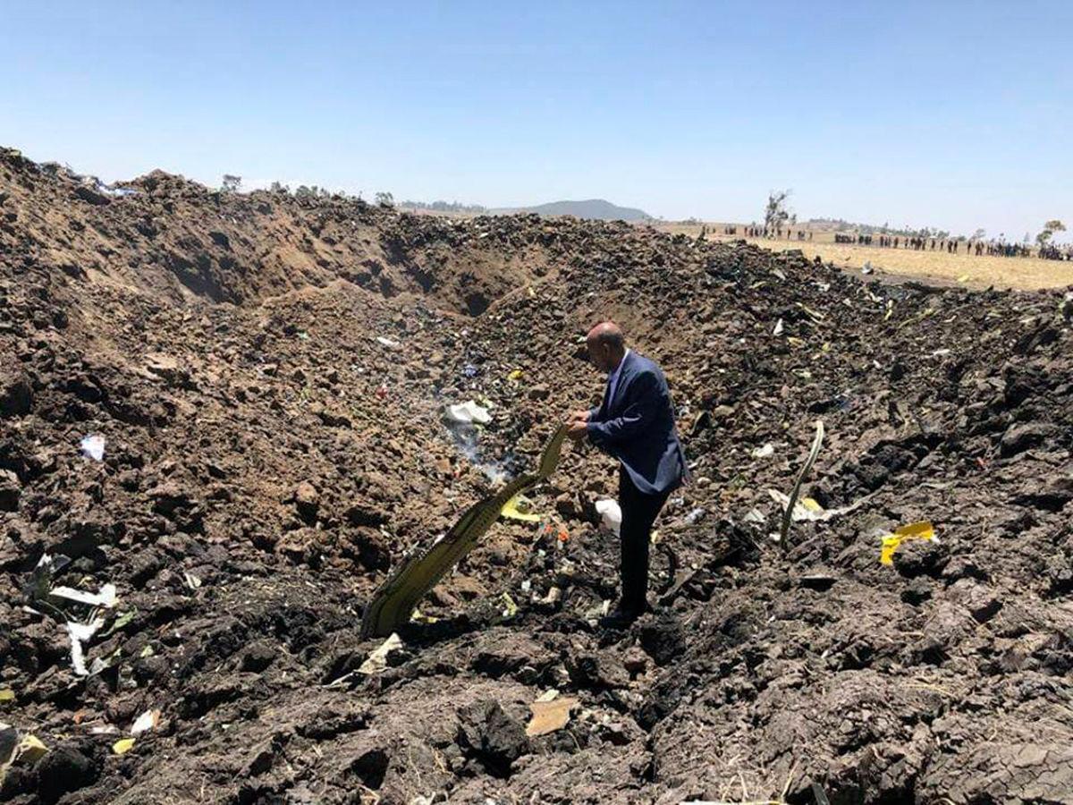 سقوط هواپیما در اتیوپی
