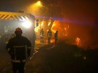 آتشسوزی در جنگلهای فرانسه +عکس