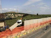 رژیم صهیونیستی ساخت دیوار حائل در مرز لبنان را آغاز کرد