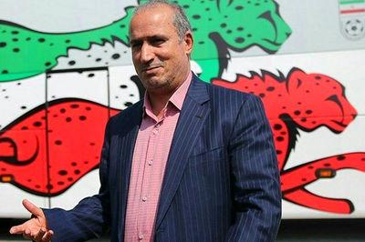 تماس رئیس فدراسیون فوتبال با پیروانی و تبریک به تیم جوانان
