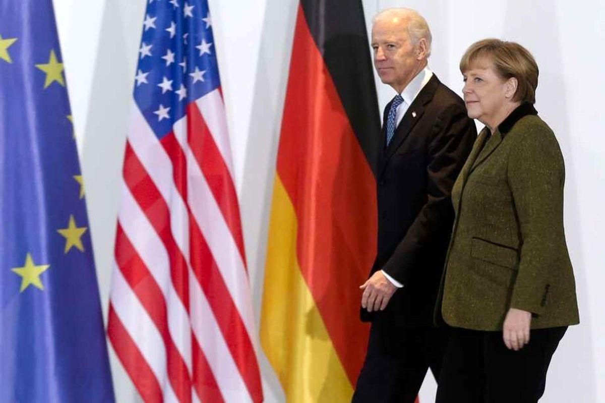 مرکل و بایدن درباره مسائل جهانی و ایران گفتوگو کردند