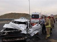 تصادف خونین و مرگبار در محور ساوه ـ همدان