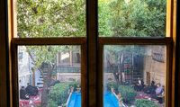 مراسم عزاداری در خانه ملک +عکس