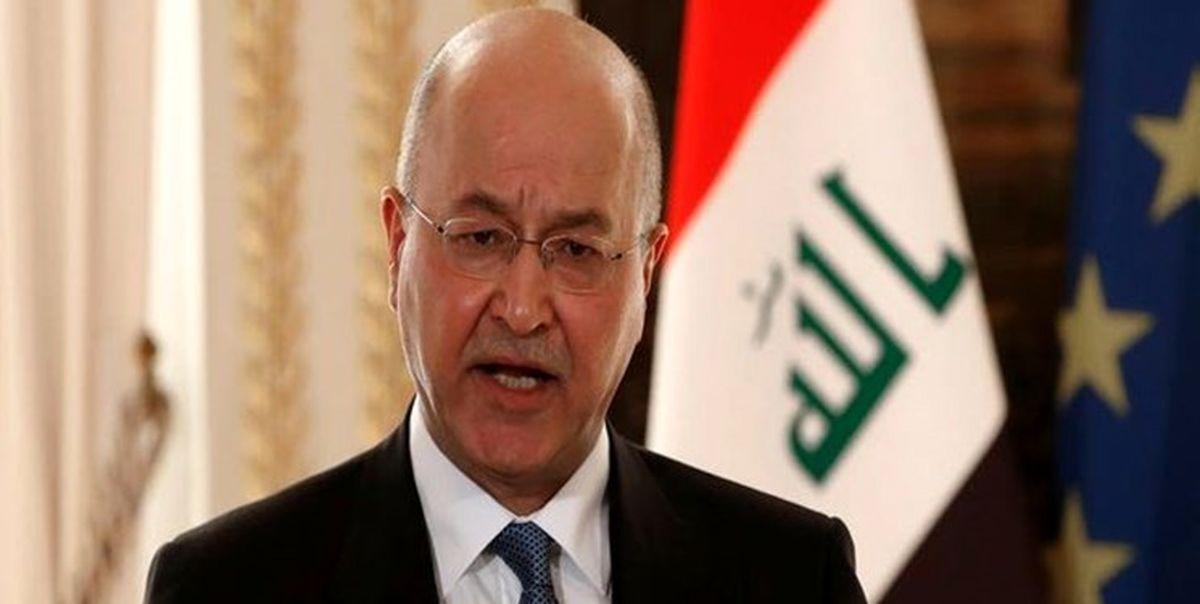 برهم صالح: ایران و عربستان بیش از یک بار گفتوگو کردهاند