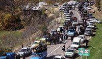 مشکل ترافیک جادههای شمال در تعطیلات