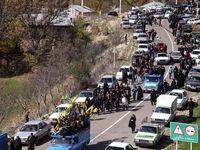 ترافیک پرحجم در آزادراه تهران- کرج